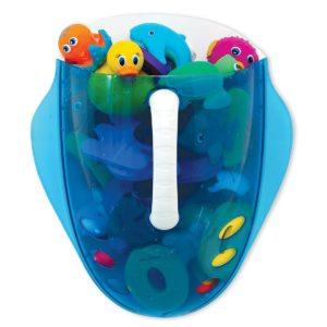 Munchkin fürdőszobai játék kiemelő és tároló