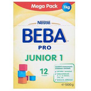 BEBA PRO Junior 1 Anyatej-kiegészítő tápszer 12 honaptol 1000 g