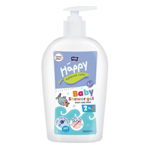 Bella Baby Happy Natural Care 2in1 Fürdető és sampon gél 1 hó+ 300 ml