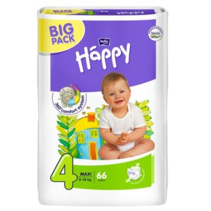Bella Baby Happy pelenka Big Pack 4 Maxi (8-18 kg) 66 db