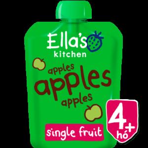 Ella's Kitchen Organikus almapüré 4 hó+ 70 g