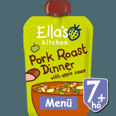 Ella's Kitchen Sertéssült almaszósszal 7 hó+ 130 g