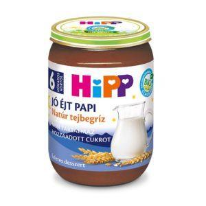 Hipp Bio Jó éjt papi Natúr tejbegríz 190 g 6 hó+
