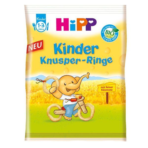 HiPP Bio Ropogós karikák 25 g 12 hó+