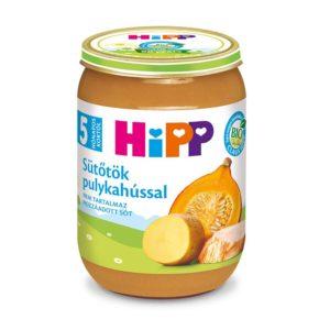 Hipp Bio Sütőtök pulykahússal 190 g 5 hó+