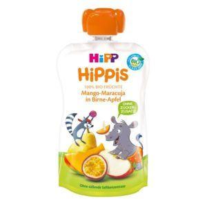 HiPP HiPPis Bio Mangó-maracuja almás körtében 100 g 12 hó+