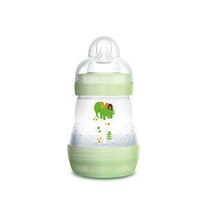 MAM Anti Colic cumisüveg újszülötteknek 160 ml, zöld