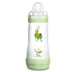 MAM Anti Colic cumisüveg 320 ml 4 hó+ (zöld)