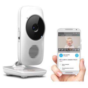MOTOROLA MBP67 Wi-Fi®-s bébiőr kamera tartóállvánnyal