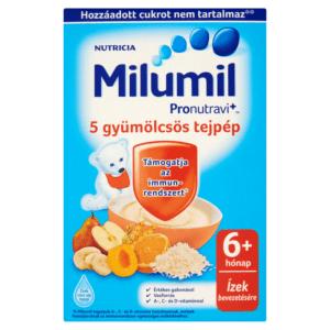 Milumil 5 gyümölcsös tejpép gabonával