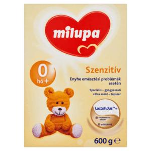 Milupa Szenzitív speciális - gyógyászati célra szánt - tápszer 0 hó+ 600 g