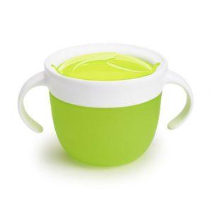 Munchkin Snack tál 266 ml (zöld) 12 hó+