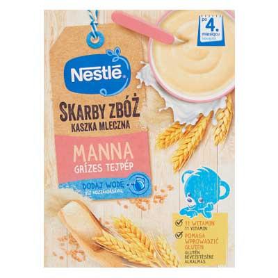 Nestlé Grízes tejpép 250 g 4 hó+