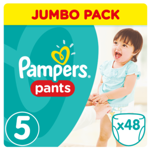 Pampers Active Pants Bugyipelenka 5 Junior 48 db (12-18 kg)