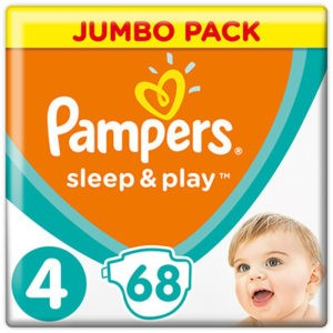 Pampers Sleep & Play nadrágpelenka 4 Maxi 68 db (9-14 kg) ikon