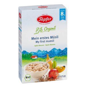 Töpfer Bio Organic Első müzlim8 hónapos kortól - 175 g