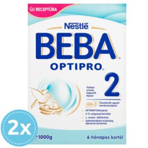 BEBA OPTIPRO 2 Tejalapú Anyatej-kiegészítő tápszer 2000 g 6 hó+