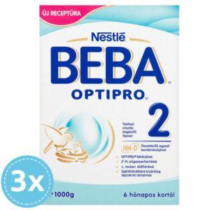 BEBA OPTIPRO 2 Tejalapú Anyatej-kiegészítő tápszer 3000 g 6 hó+