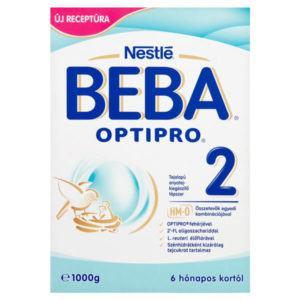 BEBA OPTIPRO 2 Tejalapú Anyatej-kiegészítő tápszer 6 hó+ 1000 g