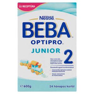 Beba OptiPro Junior 2 Anyatej- kiegészítő tápszer 24 hó+ 600 g