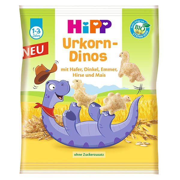 HiPP Dínó figurák BIO gabonából 30 g 12 hó+