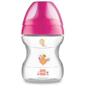 MAM learn to drink cup ivastanulo pohar 190 ml 6 ho rozsaszin