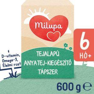 Milupa 2 Anyatej kiegészítő tápszer 6 hó+ 600 g uj