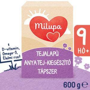 Milupa 3 Anyatej kiegészítő tápszer 9 hó+ 600 g