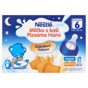 Nestlé Pizsama Hami Kekszes folyékony gabonás bébiétel 2x200 ml 6 hó+