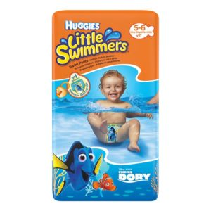 HUGGIES Little Swimmers Úszópelenka 'L' 11 db (12-18 kg)