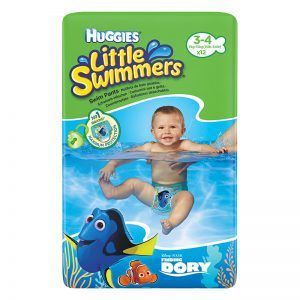 HUGGIES Little Swimmers Úszópelenka 'M' 12 db (7-15 kg)