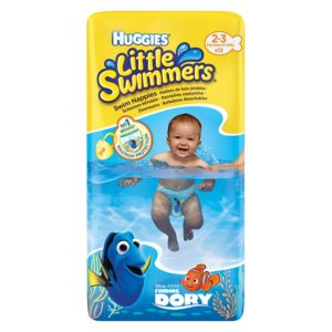 HUGGIES Little Swimmers Úszópelenka S (3-8 kg) 12 db