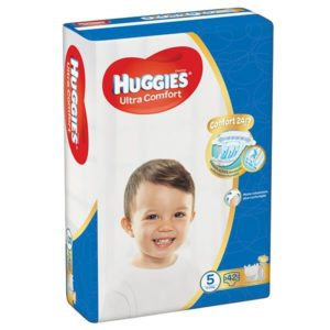 HUGGIES Ultra Comfort Nadrágpelenka Junior 5 (12-22 kg) 42 db