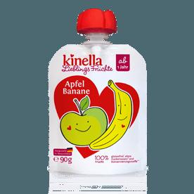Kinella alma-banán 100% gyümölcspüré 90 g