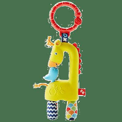 Akasztós és babakocsi játékok