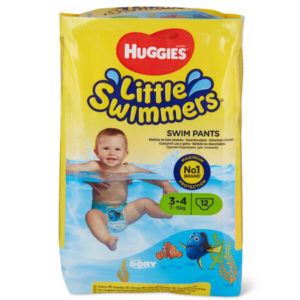 Huggies Little Swimmers Úszópelenka 3-4 (7-15 kg) 12 db