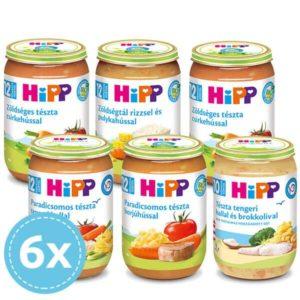 Hipp Bio Húsos menük 12 hónapos kortól - Csomagajánlat 6x 220 g