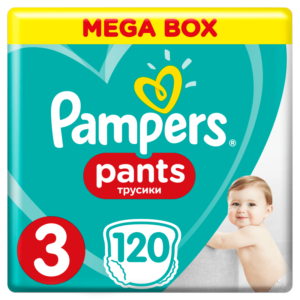 Pampers Pants Bugyipelenka 3 Midi Mega Box (6-11 kg) 120 db