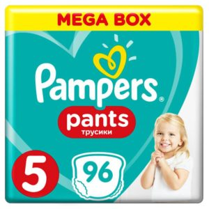 Pampers Pants Bugyipelenka 5 Junior Mega Box (12-18 kg) 96 db