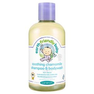 Earth Friendly Baby Kamillás fürdető és sampon 250 ml