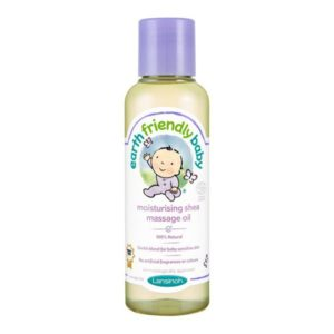 Earth Friendly Baby Organikus Shea hidratáló masszázsolaj 125 ml