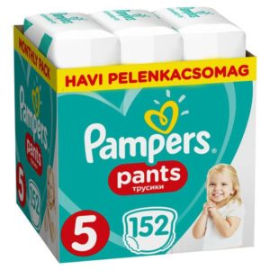 Pampers Pants Bugyipelenka Junior 152 db - Havi pelenkacsomag