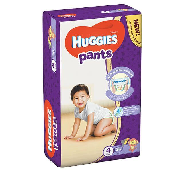 Huggies Pants Bugyipelenka 4 (9-14 kg) 36 db