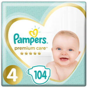 Pampers Premium Care 4-es nadrágpelenka (9-14 kg) 104 db - Megabox ikon