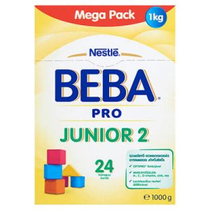 BEBA PRO Junior 2 Anyatej-kiegészítő tápszer 1000 g 24 hó+