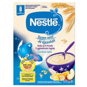 Nestlé Jó éjszakát 5 Gyümölcsös tejpép 250 g 8 hó+