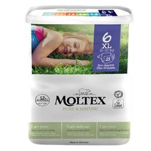 Moltex Pure & Nadrágpelenka 6 XL (16-30 kg) 21 db