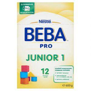 BEBA PRO Junior 1 Anyatej-kiegészítő tápszer 12 hó+ 600 g