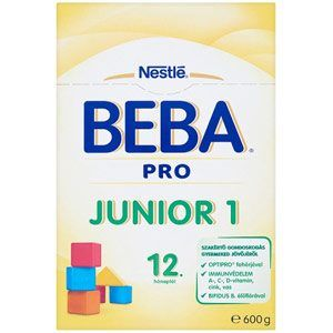 BEBA PRO Junior 1 Anyatej-kiegészítő tápszer 12 honaptol 600 g