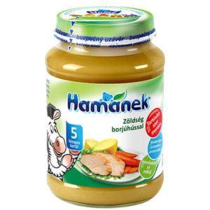 Hamánek Bébiétel Zöldség borjúhússal 190 g 5 hó+